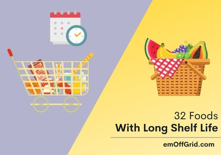 Foods With Long Shelf Life For Your Pantry