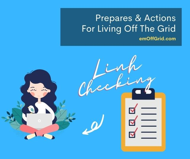 Checklist For Living Off The Grid