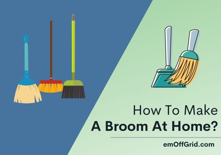 How To Make A Broom At Home