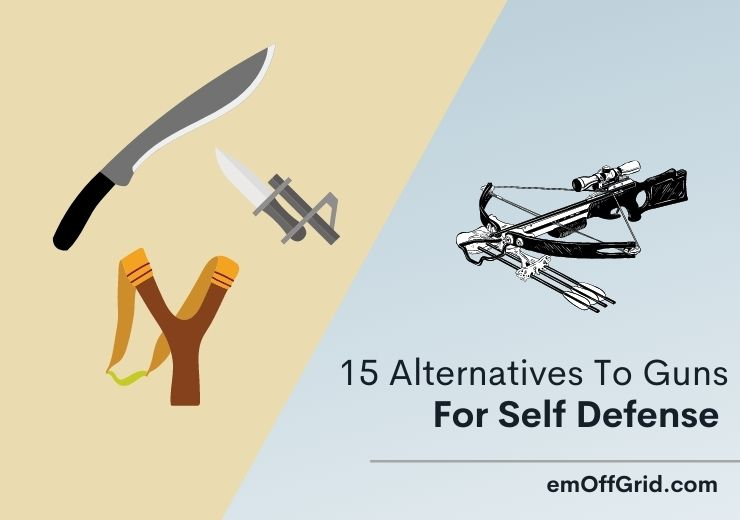 Alternatives To Guns For Self Defense