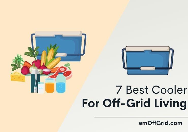 7 Best Cooler For Off-Grid Living