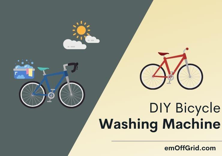 DIY Bicycle Washing Machine