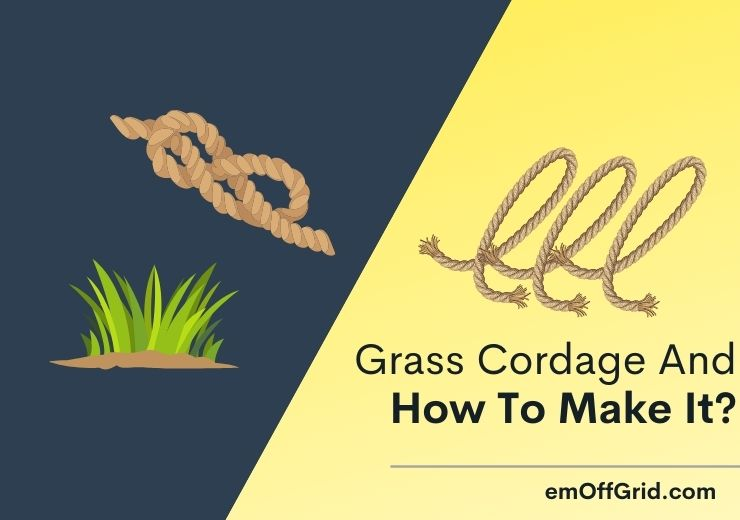 Grass Cordage And How To Make It?