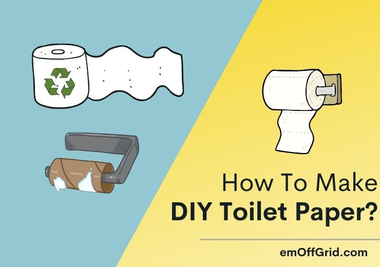 How To Make Toilet Paper?